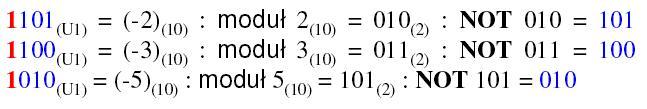 Kod U1 przykład 2